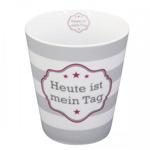 Krasilnikoff Happy Mug Heute ist mein Tag