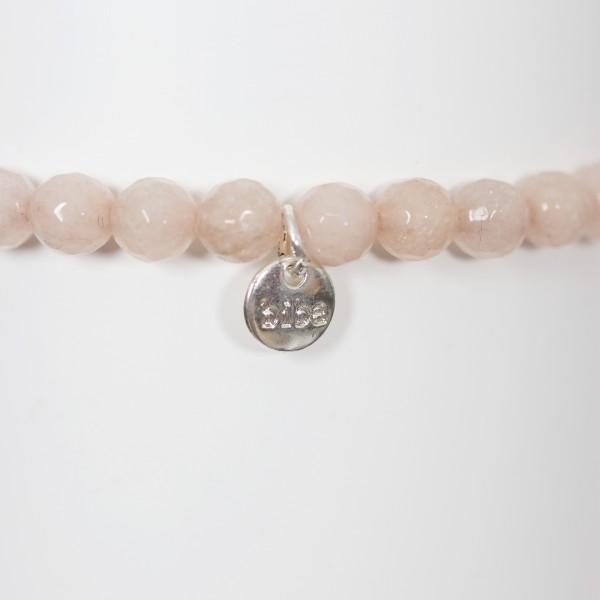 Biba Perlenarmband Crystal rosé große Perle