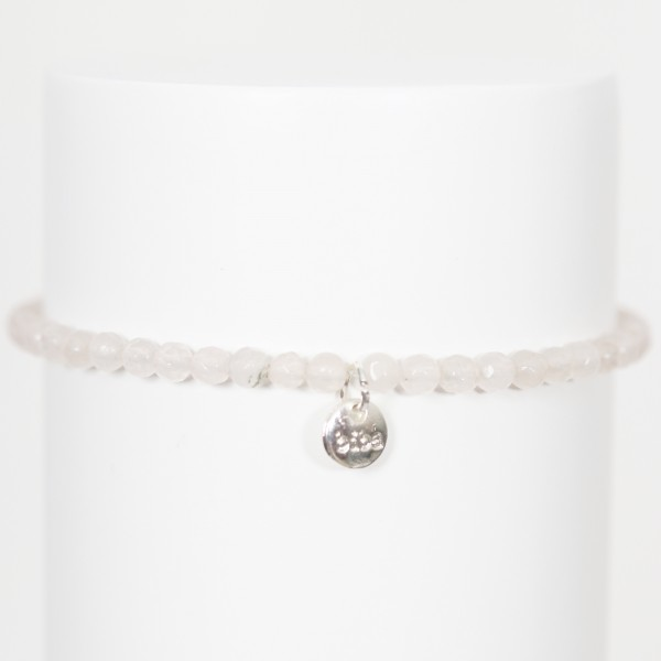 Biba Perlenarmband Crystal natur/weiß