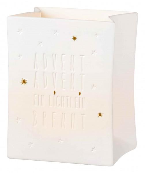 Räder Weihnachtszauber Porzellan Lichttüte Advent