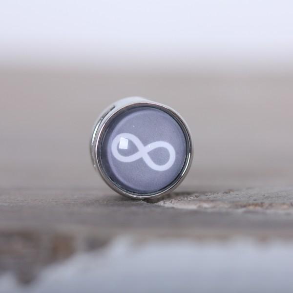 Schiebeperle Infinity aus Metall