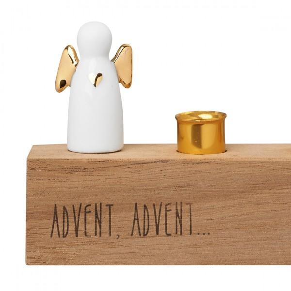 Räder Winterzeit Adventsengel gold Advent Advent