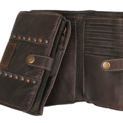 BULL&HUNT Portemonnaie urban wallet brown