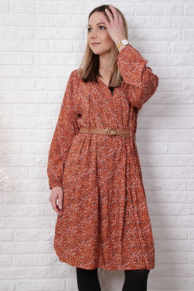 Kleid Tunika Blossom in orange