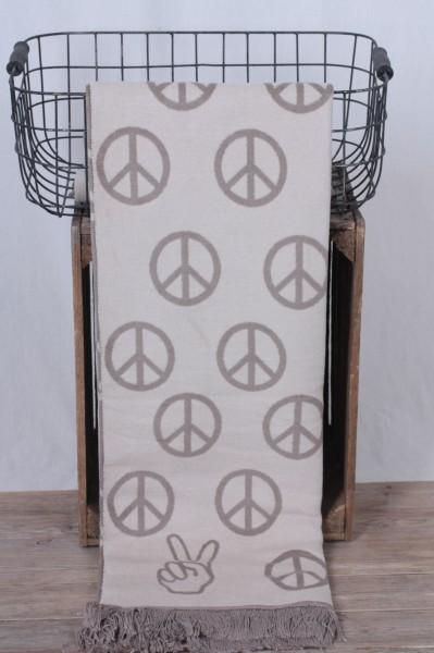 Pad Kuscheldecke Peace beige