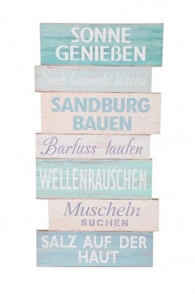 """Holzschild """"Sonne genießen"""""""