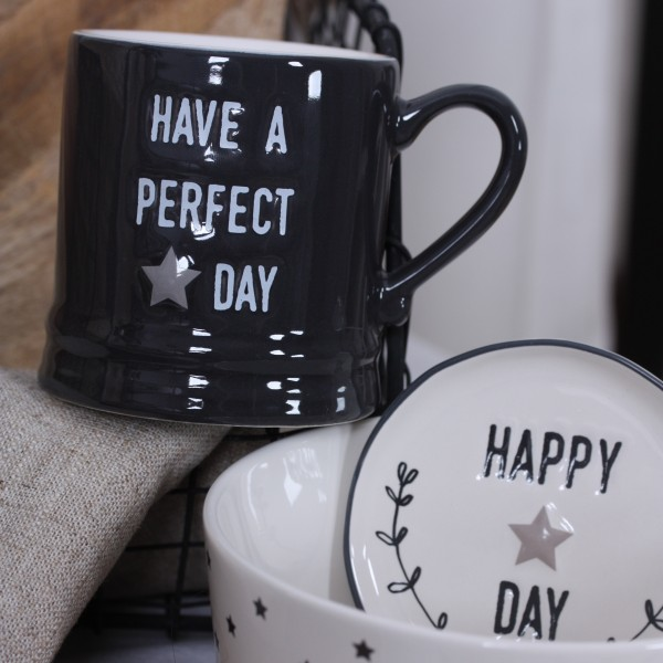 Bastion Collection Mug small schwarz Perfect Day