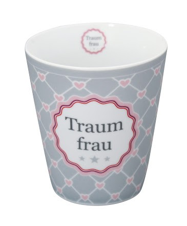 Krasilnikoff Happy Mug Traumfrau