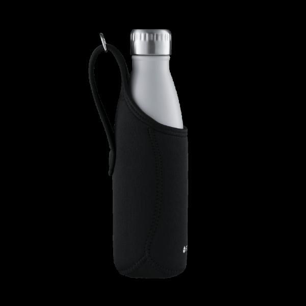 FLSK Neoprentasche schwarz für deine Trinkflasche 500ml