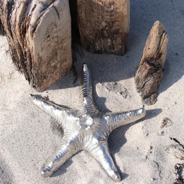 Meerestiere silber Aluminium 2 Varianten