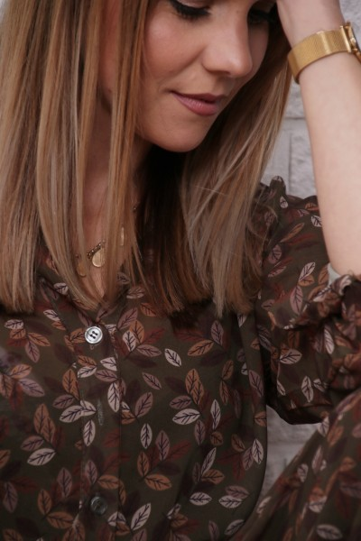 Kleid Autumn khaki