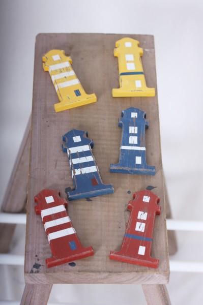 Magnet Leuchtturm 6 Designs