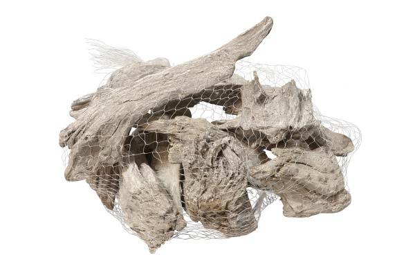 Treibholz Stücke im Netz 500g