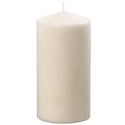 Kerze creme 10cm