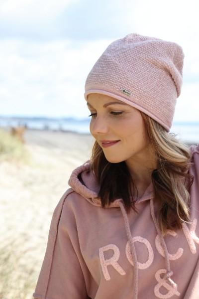 Strickmütze Schietbüdel in rosa
